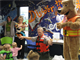Park ranger Jim Montgomery and Bobber the Water Safety Dog visited area children and taught water safety during Storytime at the Broken Arrow South Library.