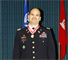 Lt. Col. Don Nestor wearing the prestigious Bronze de Fleury Medal around his neck. The medal recognizes Nestor's superior service to the Army Engineer Regiment in support of the Army mission.