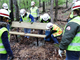 U.S. Army Corps of Engineers Tulsa District Leadership Development II team members work to install a new park bench at Fort Gibson Lake April 18. The group was there as part of a field trip to learn about the Civil Works projects of the district.